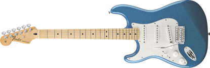 Fender Standard Stratocaster Left-Handed MN, Lake Placid Blue