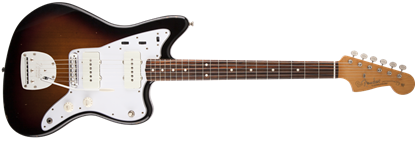 Fender Road Worn '60s Jazzmaster RW, 3-Colour Sunburst