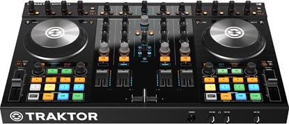 Picture of Native Instruments Traktor Kontrol S4 MK2 4-Channel DJ Controller