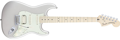 Fender Deluxe Stratocaster HSS Electric Guitar - Maple Neck - Blizzard Pearl