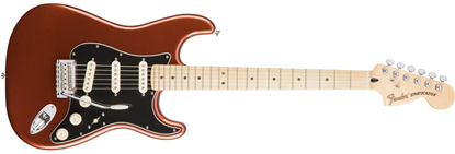 Picture of Fender Deluxe Roadhouse Stratocaster MN, Classic Copper