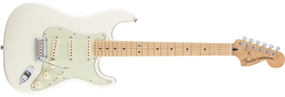 Picture of Fender Deluxe Roadhouse Stratocaster MN, Olympic White