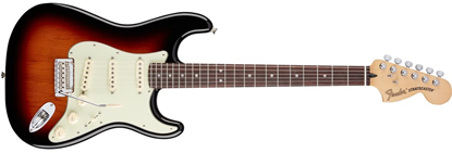Picture of Fender Deluxe Roadhouse Stratocaster RW, 3-Colour Sunburst