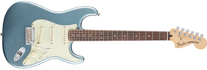 Fender Deluxe Roadhouse Stratocaster Electric Guitar - Pau Ferro Fretboard -Mystic Ice Blue