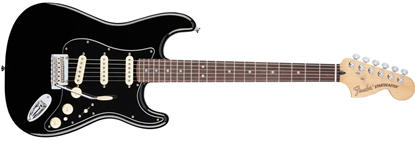 Picture of Fender Deluxe Stratocaster RW, Black