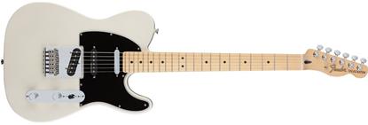 Fender Deluxe Nashville Telecaster Electric Guitar - Maple Neck - White Blonde