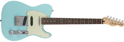 Fender Deluxe Nashville Telecaster Electric Guitar - Pau Ferro Fretboard -Daphne Blue