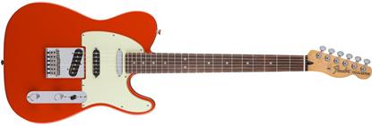 Fender Deluxe Nashville Telecaster Electric Guitar - Pau Ferro Fretboard -Fiesta Red