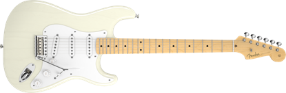 Fender American Vintage '56 Stratocaster Electric Guitar MN, Aged White Blonde