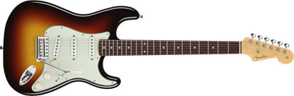 Fender American Vintage '59 Stratocaster Electric Guitar RW, 3-Colour Sunburst