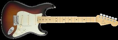 Fender American Elite Stratocaster Electric Guitar MN, 3-Colour Sunburst