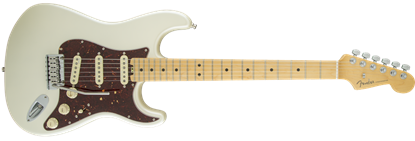 Fender American Elite Stratocaster Electric Guitar MN, Olympic Pearl