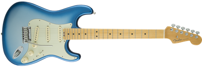 Fender American Elite Stratocaster Electric Guitar MN, Sky Burst Metallic