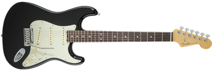 Fender American Elite Stratocaster Electric Guitar RW, Mystic Black