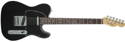 Picture of Fender American Elite Telecaster Electric Guitar RW, Mystic Black