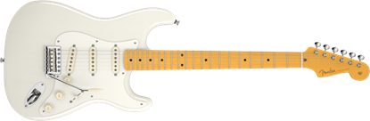 Picture of Fender Eric Johnson Stratocaster Electric Guitar MN, White Blonde