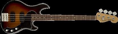 Fender American Standard Dimension Bass Guitar HH RW, 3-Colour Sunburst