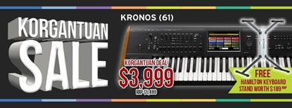 Picture of KORG Kronos 2 61-Key Workstation with FREE STAND