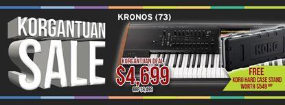 Picture of KORG Kronos 2 73-Key Workstation W FREE Hard Case