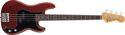 Fender Nate Mendel Precision Bass Guitar RW, Candy Apple Red