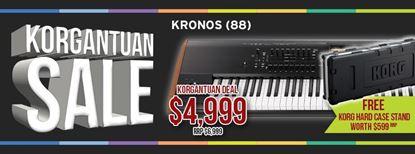 Picture of Korg Kronos 2 88-Key Workstation w FREE Hard Case