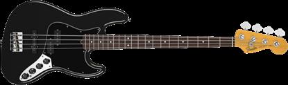 Fender Reggie Hamilton Standard Jazz Bass RW, Black