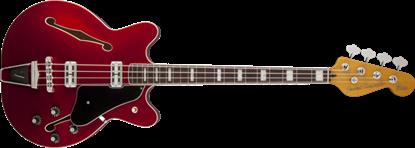 Fender Modern Player Coronado Bass Guitar RW, Candy Apple Red