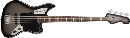 Fender Troy Sanders Jaguar Bass Guitar RW, Silverburst