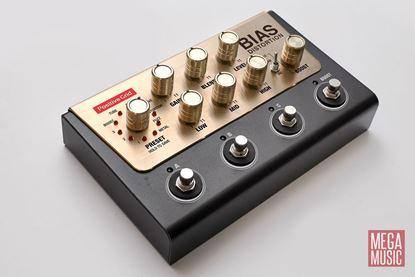 Positive Grid Bias Distortion Pro Tone Match Guitar Pedal - angle view
