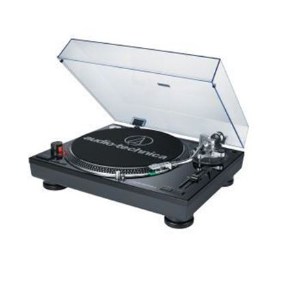 Audio-Technica AT-LP120-USB Direct-Drive Professional Turntable (USB & Analog) Black