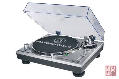 Audio Technica AT-LP120-USB Direct-Drive Professional Turntable - Silver