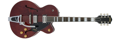 Gretsch G2420T Streamliner Hollow Body Electric Guitar with Bigsby - Walnut Stain