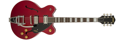 Picture of Gretsch G2622T Streamliner Centre Block Hollow Body Electric Guitar with Bigsby - Flagstaff Sunset Red