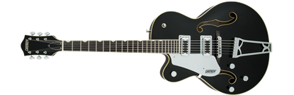 Gretsch G5420LH Electromatic Single Cutaway Hollow Body Electric Guitar - Black (Left-handed)