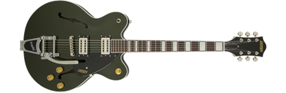 Picture of Gretsch G2622T Streamliner Centre Block Hollow Body Electric Guitar with Bigsby - Torino Green