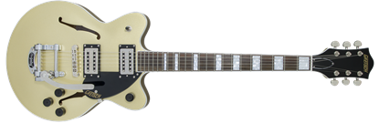 Picture of Gretsch G2655T Streamliner Centre Block Junior Hollow Body Electric Guitar with Bigsby - Golddust