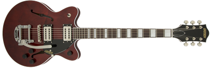 Gretsch G2655T Streamliner Centre Block Junior Hollow Body Electric Guitar with Bigsby - Walnut Stain