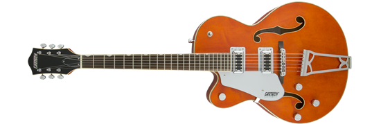 Gretsch G5420LH Electromatic Single Cutaway Hollow Body Electric Guitar - Orange Stain (Left-handed)