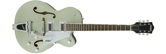 Gretsch G5420T Electromatic Single Cutaway Hollow Body Electric Guitar with Bigsby - Aspen Green