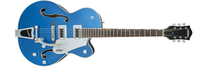 Gretsch G5420T Electromatic Single Cutaway Hollow Body Electric Guitar with Bigsby - Fairlane Blue