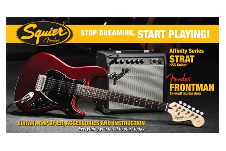 Squier Electric Guitar Packs