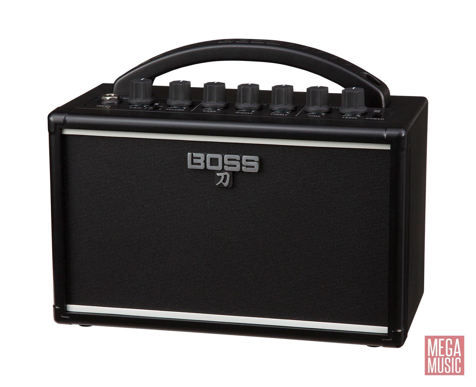 BOSS Katana-Mini Guitar Amplifier - front angle view