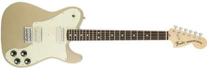 Fender Chris Shiflett Signature Deluxe Telecaster Electric Guitar - Rosewood Fretboard - Shoreline Gold