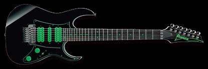 Ibanez UV70P BK Steve Vai 7 String Electric Guitar Black