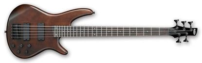 Ibanez SR255B WNF SR Series 5-String Bass Guitar Walnut Flat Finish