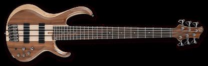 Ibanez BTB746 NTL BTB Series 6-String Bass Guitar Natural Low Gloss