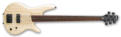 Ibanez GWB1005 NTF Gary Willis Signature 5-String Fretless Bass Guitar Natural Flat