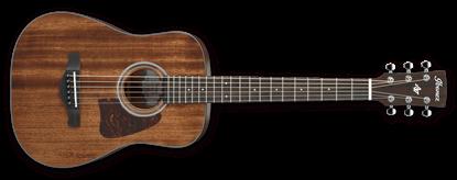 Ibanez AW54MINGB OPN Artwood Mini Acoustic Guitar Mahogany Open Pore Natural