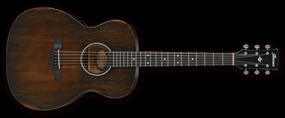 Ibanez AVC6 DTS Artwood Vintage Grand Concert Acoustic Guitar Distressed Tobacco Sunburst
