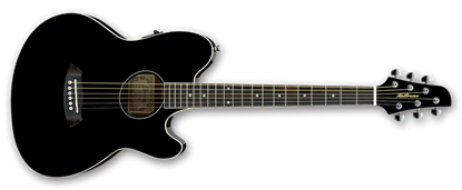 Ibanez TCY10E BK Talman Acoustic Guitar Black High Gloss